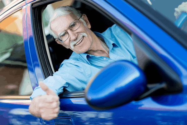 Over 60's driver