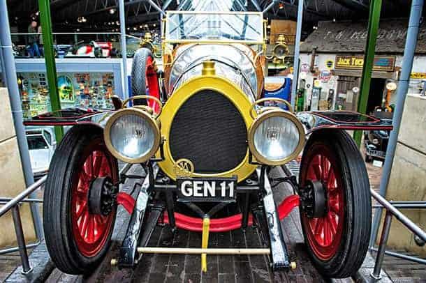 Chitty Chitty Bang Bang Car displayed at the Beaulieu Motor Museum