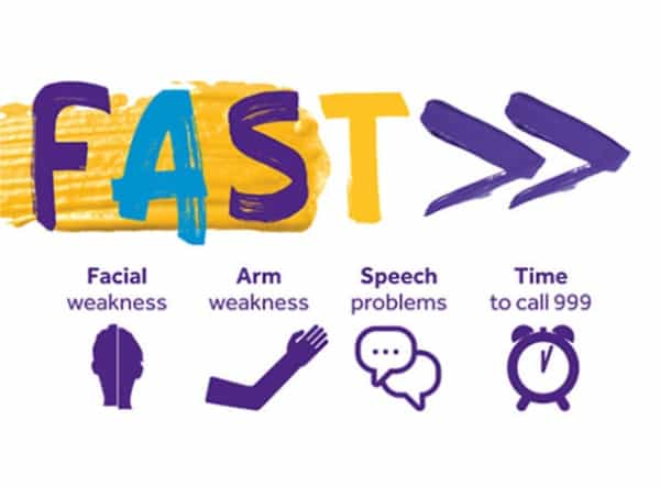 Simon urges people across the South of England to act FAST
