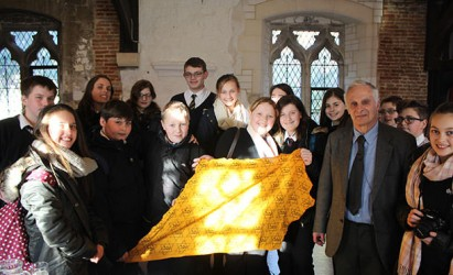 Applemore Students meet Holocaust survivor