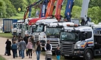 Medieval madness, Truckmania, Giant Scalextric and outdoor games
