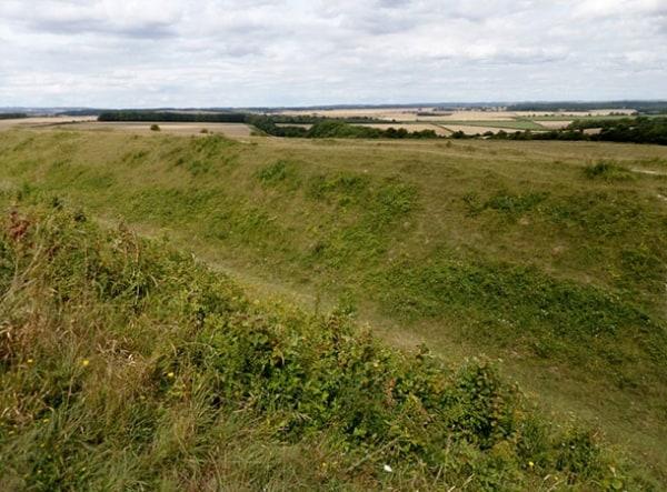 Fortifications at Badbury Rings