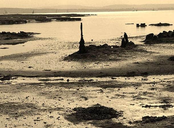 Beach at Pylewell