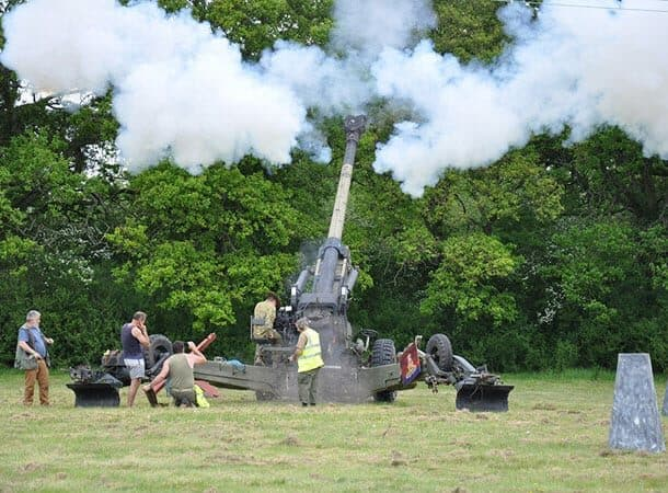 Home Front Heritage - Lepe Country Park - Solent Overlord Military Club 2015 image Cori Haws
