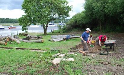 Week-long dig for archaeological excavation at Buckler's Hard