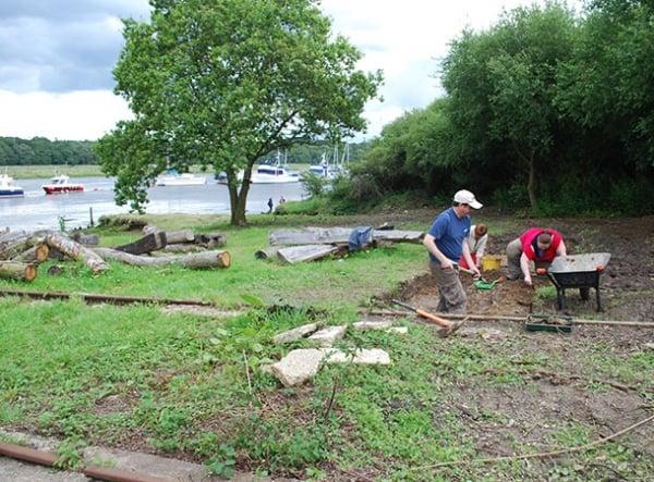 Buckler's Hard archaeological excavation
