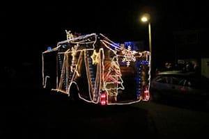 Christmas Fire Engine