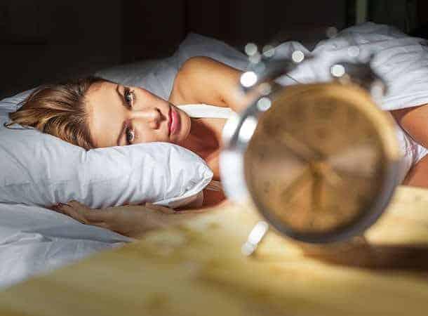 lady looking at clock