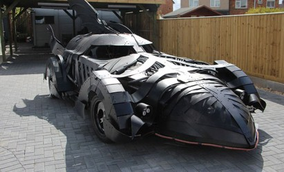 Batmobile is a Superhero at Beaulieu's Hot Rod & Custom Drive-in Day