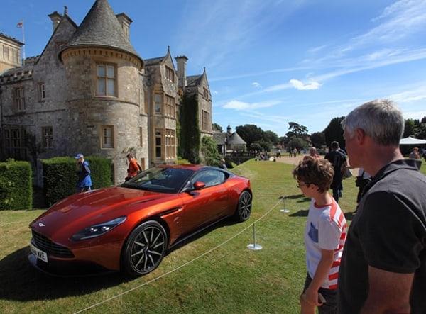 Aston Martin DB11 supercar