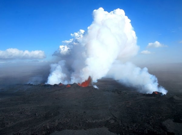 Volcanic carbon dioxide drove ancient global warming event