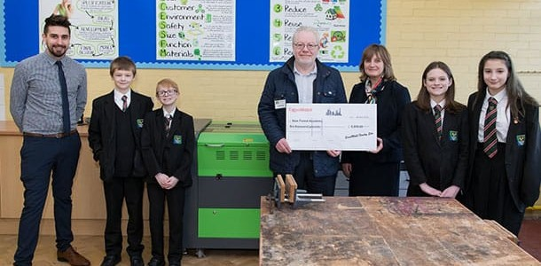 ExxonMobil Fawley makes £12,000 New Year donation for local STEM teaching