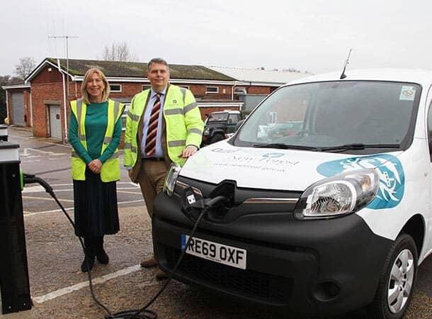 greener future - using electric vans