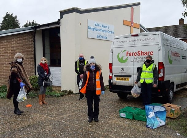 ExxonMobil Fawley contribution helps Citizens Advice New Forest reach out at Food Larder