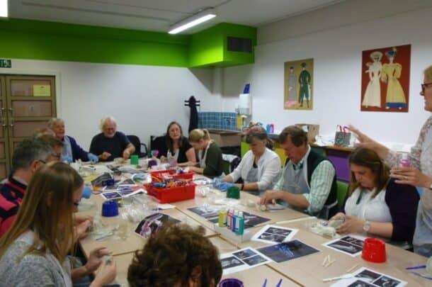National Motor Museum Trust creative workshop